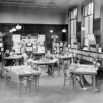 Kingston Library - Interior, 1907
